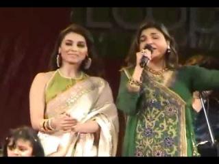 Alka Yagnik Live Kabhi Alvida Naa Kehna with Rani Mukherjee