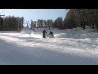 Промо ролик про профессиональные сноускуты Blackmountain
