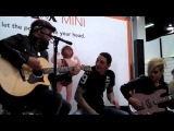 Monte Pittman @ NAMM 2011 Anaheim CA 1-16-11 Out of the Black (with Steve Cooke)