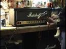 FJA modded Marshall JCM800 2203 Jerry's amp 1