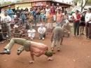 Roda de rua Festival Bantus Capoeira 2008