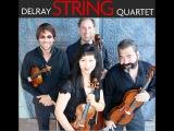 Delray String Quartet plays Aleksandr Glazunov's String Quartet no 5 in d minor