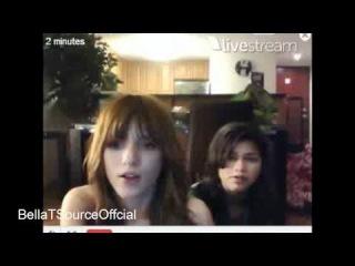 Bella Thorne and Zendaya Live Chat April 3rd 2011 Twit cam Part 2