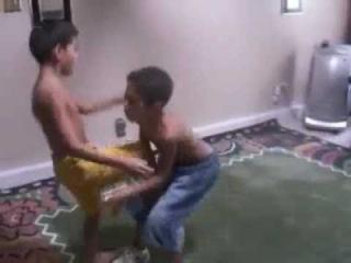 Pakistani Boys/Kids Wrestling like John Cena at WWE