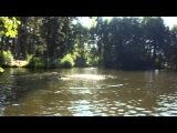 Тарзанка в Тулиновке, Прыжок в воду
