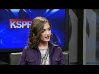 Justin Bieber's Girlfriend Michaela Wallace on KSPR News Springfield MO