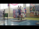 The Russian Cup on Kettlebell lifting 2011 Dmitry Gaintsev Jerk 32 kg KB.MP4