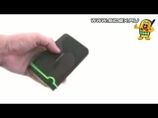 Sidex.ru: Видеообзор внешнего жесткого диска Transcend StoreJet 25M3 USB 3.0 (rus)