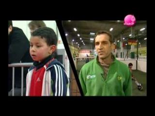 Madïn le petit zidane de 6 ans reportage sur Aljazeera Children Channel