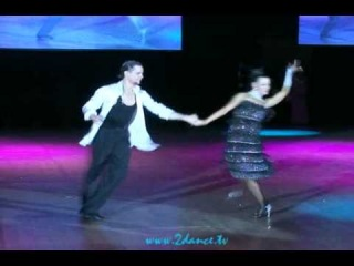Kiev Dance Festival 2010, Justinas Duknauskas & Ekaterina Lapaeva, Jive