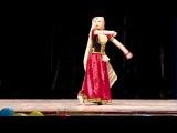 Ganesh Vandana Ghaye Ganapati - Kathak classic dance - Viktoria Anisimova (Tarang)