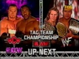 Chris Jericho & The Rock vs Booker T & Test - WWF Tag Team Titles 2001