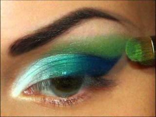 Уроки макияжа.Профессиональный визаж. 1
