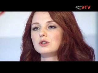Lena Katina at Hot Secrets on Europa Plus TV 30 Sep 11