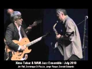 Pink Panther / Ximo Tebar VS Jorge Roque / Guitar and Sax Solo / Cordoba July '10