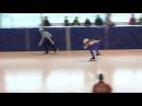 СК Орбита открытый кубок Тверской области по шорт треку 17 04 2011 Девушки средний 1000 финал