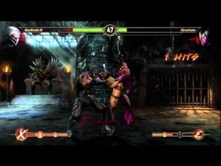 Smoke Cyber SubZero Vs Kung Lao Mileena Mk9 Online Tag