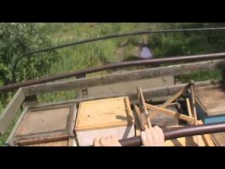 Дорога на пасеку Зил-157. Студебекер