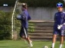Hugo Lloris Training Session With Fabien Bartez