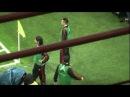 Milan Catania 4-0 Curva Sud Milano ''ZOMMATA SU PIPPO INZAGHI CHE SI RISCALDA'' IN HQ''.