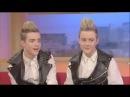 John & Edward (Jedward) on GMTV 23112009