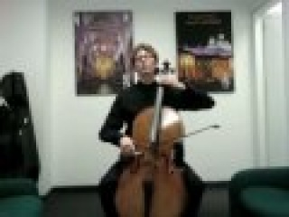 POPPER PROJECT #23: Joshua Roman plays Etude no. 23 for cello by David Popper