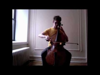 POPPER PROJECT #18: Joshua Roman plays Etude no. 18 for cello by David Popper