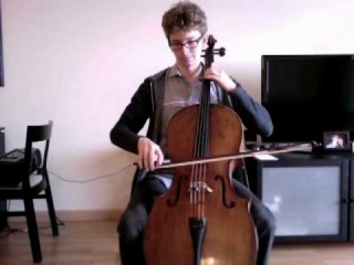 POPPER PROJECT #24: Joshua Roman plays Etude no. 24 for cello by David Popper
