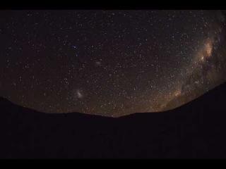 Вид нашей Галактики невооруженным глазом - пустыня Атакама -  Serge Brunier