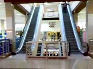Бабка и эскалатор