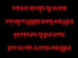 Amon Amarth - Gods of War Arise ! - with lyrics