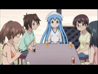 Нашествие девочки Кальмарки 2 (второй сезон) - 01 [Озвучка: Shinako] / Shinryaku! Ika Musume 2 [Bakuman.Tv]