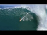 Laird Hamilton and Dave Kalama riding Jaws