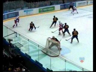 КХЛ 2010/11.Плей-офф.Атлант-Локомотив GM3. 3-0 Барулин.wmv
