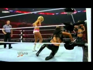 WWE Raw 06/13/11 - 7-on-7 All Star Divas Tag Team Match HQ