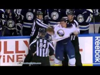 НХЛ 2010-11 Лучшие бои и силовые приемы