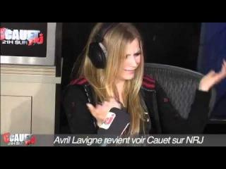 Avril Lavigne - Cauet sur NRJ Interview (16.09.2011)