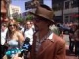 Charlie and the Chocolate Factory (Johnny Depp and Tim Burton) Premiere LA
