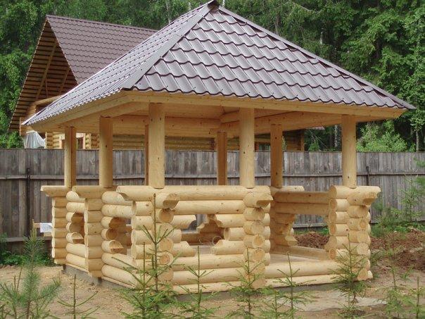 деревянного бруса из лиственницы