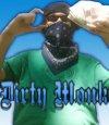 Группа фанатов гангста-рэппера Dirty Monk