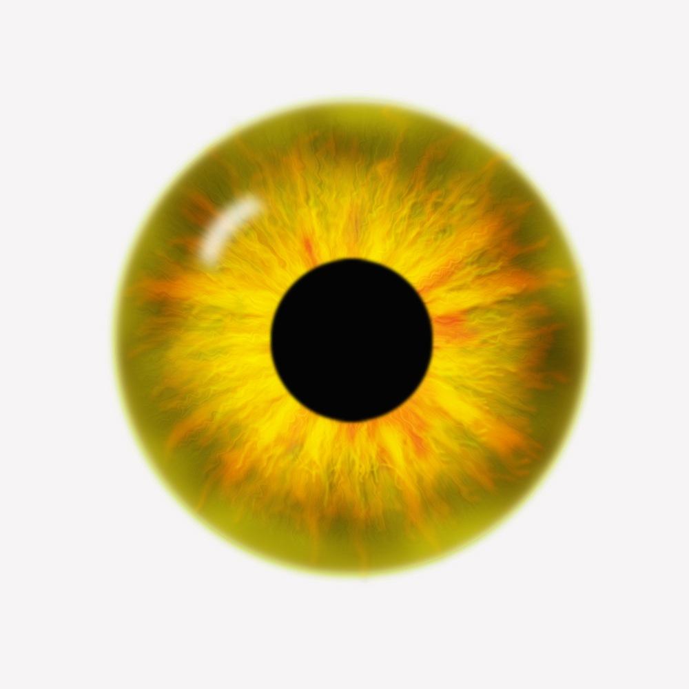 Как сделать желтые глаза 867