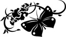 Бесшовный узор из бабочек, иллюстрация 3236107...