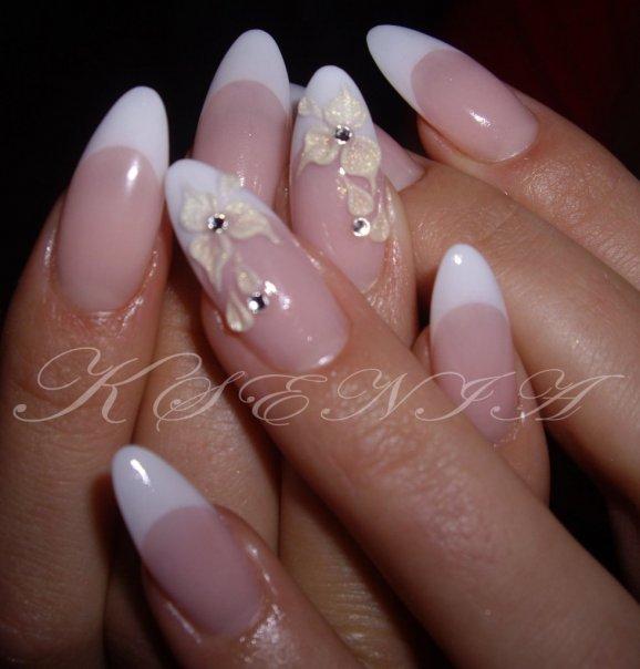 Дизайн ногтей круглая форма