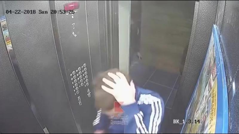 Прибухнули расхреначили дверь в подъезд и лифт в доме Краснодара смотреть онлайн без регистрации