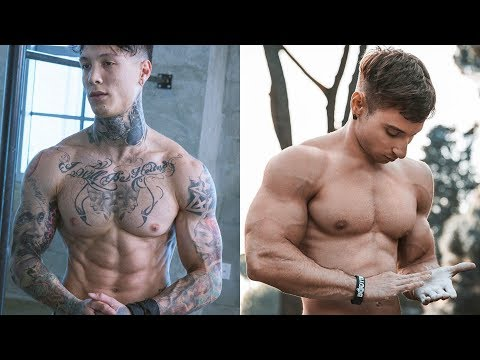 Watch This Before You Hit a WORKOUT! Chris Heria VS Andrea Larosa MOTIVATION 2018😱😱😱