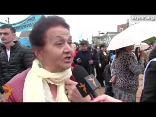 Траур под прицелом. Годовщина депортации крымского народа. Симферополь