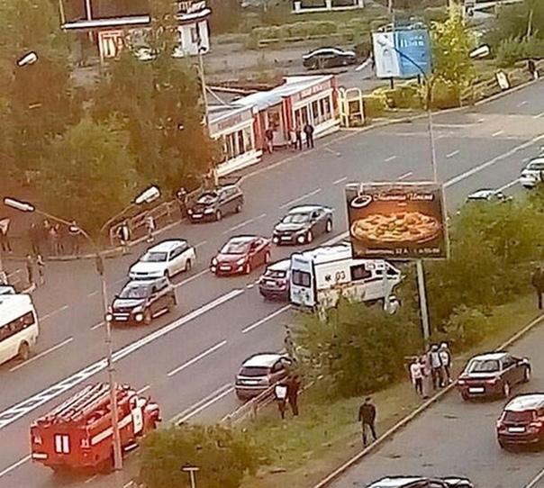 03.08.2018. «ВАЗ» сбил 23-летнюю девушку на «зебре»