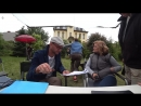 Съемки фильма Нетающий лед. Видеоблогер Агата Муцениеце