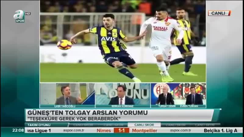 Fenerbahçenin Yeni Transferi Tolgay Arslandan Beşiktaşlıları Kızdıracak Yeni Açıklama