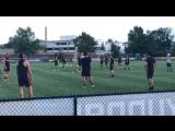Тренировка AS Roma в Бостоне 03.08.2018